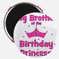 ofthebirthdayprincess_bigbrother_pink Magnet