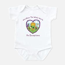 God Bless The Whole World Infant Bodysuit