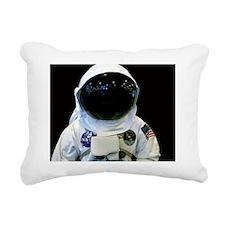 (11) Astronaut 1b Rectangular Canvas Pillow
