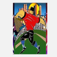 Baseball Pitcher Journal  Postcards (Package of 8)