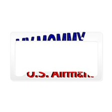 My Mommy is a US Airman License Plate Holder