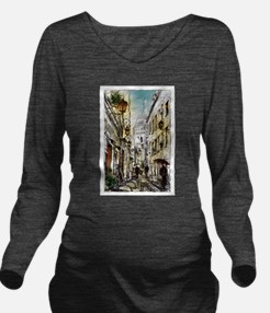 Montmartre 11 Long Sleeve Maternity T-Shirt