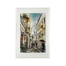 Montmartre 11 Rectangle Magnet