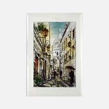 Montmartre 11 Rectangle Magnet
