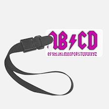 ab-cd-girl Luggage Tag