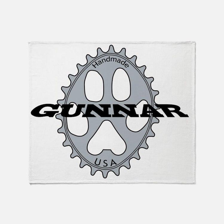 3-GunnarGraphicvector201003 Throw Blanket