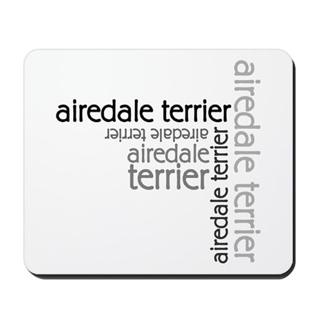 Airedale Terrier Multi Mousepad
