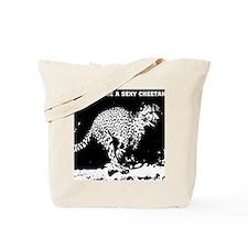 sexy cheetah Tote Bag