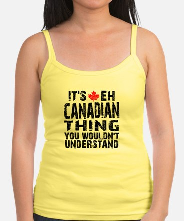 Canadian Thing -coaster Tank Top