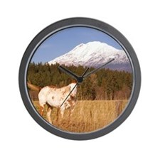 2-Alpine Pastures Wall Clock
