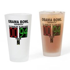 cp_obama_bowl_button Drinking Glass