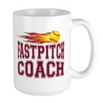 Fastpitch Coach Large Mug