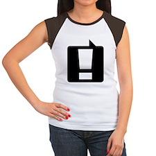 exclamation_bk_10x10 Women's Cap Sleeve T-Shirt