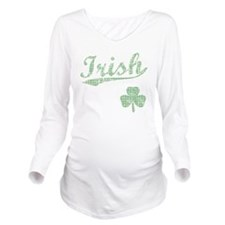 irishbbstyle3 Long Sleeve Maternity T-Shirt