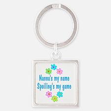 spoilNanna Square Keychain