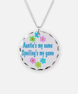 spoilAuntie Necklace Circle Charm