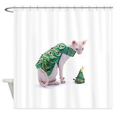 unHappy Xmas Shower Curtain