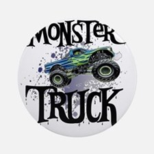 Monster_Truck_cp Round Ornament