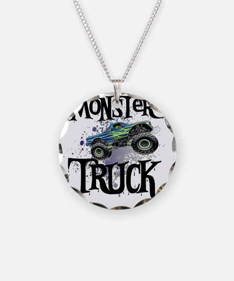 Monster_Truck_cp Necklace