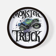 Monster_Truck_cp Wall Clock