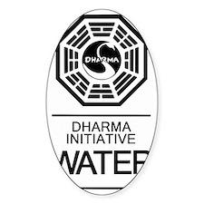 Dharma Water Decal