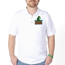 nessie5x3oval_sticker T-Shirt