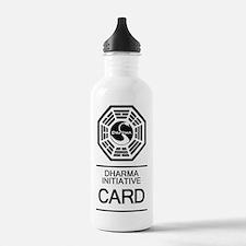 Dharma Card Water Bottle