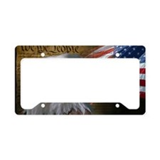 We_the_People_12inch_rect License Plate Holder