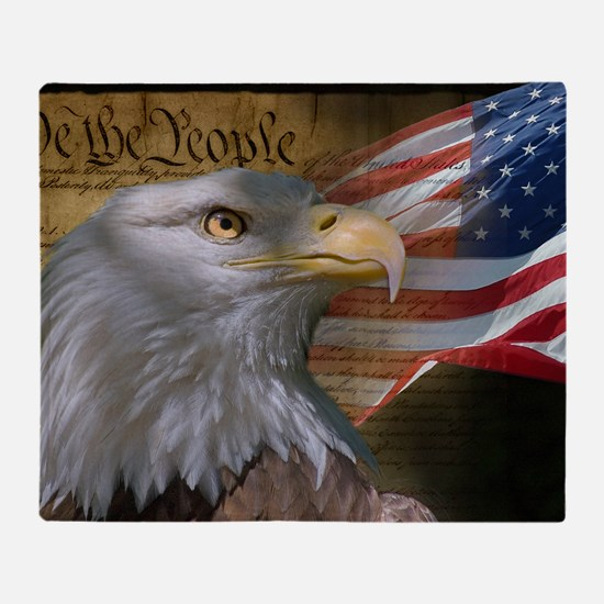 We_the_People_12inch_rect Throw Blanket