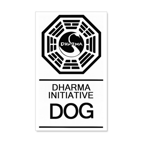 Dharma Dog 35x21 Wall Decal