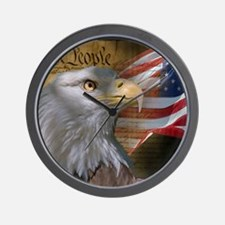 We_the_People_11.5x9 Wall Clock