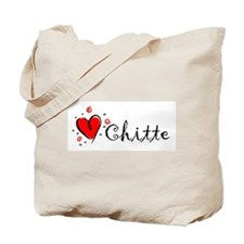 """I Love You"" [Burmese] Tote Bag"