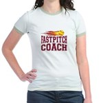 Fastpitch Coach Jr. Ringer T-Shirt