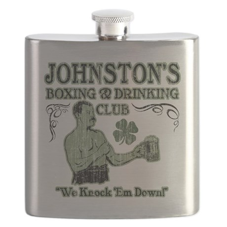 johnstons club Flask