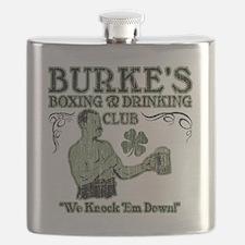 burkes club Flask