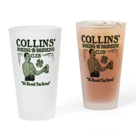 collins club Drinking Glass