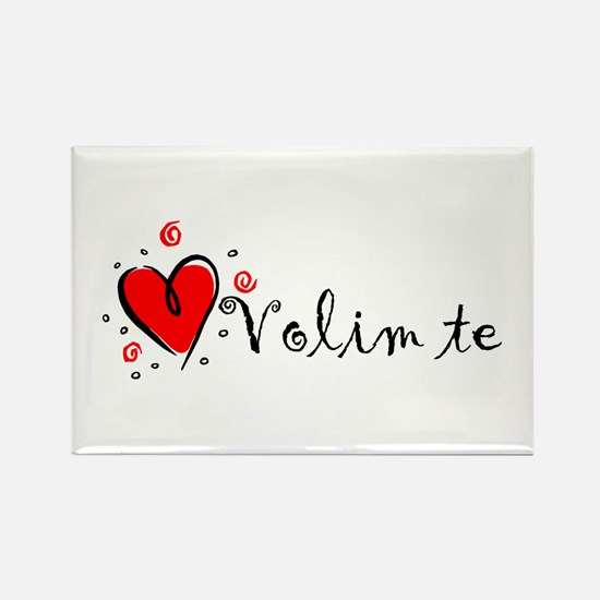 how to say i love you in bosnian