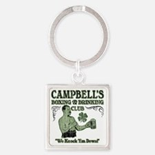 campbells club Square Keychain