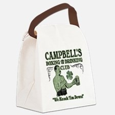 campbells club Canvas Lunch Bag