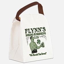 flynns club Canvas Lunch Bag