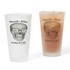200largeskelton_head__nobgb Drinking Glass