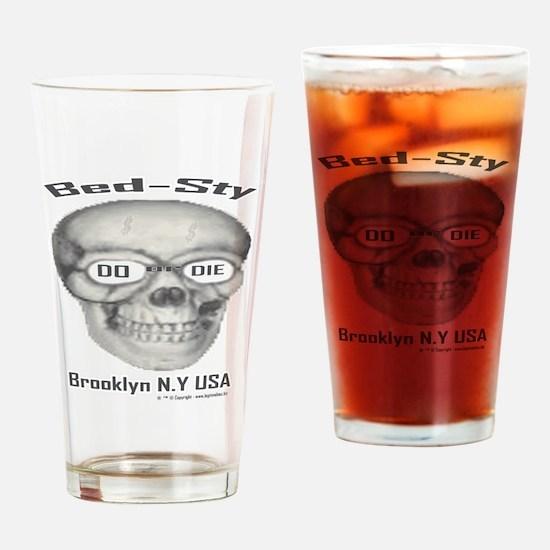 200largeskelton_head__nobgb Drinking Glass