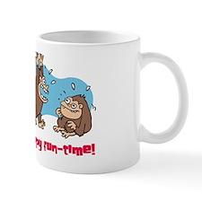 Monkey goo-goo happy fun-time Mug