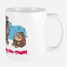 Monkey goo-goo happy fun-time Mug