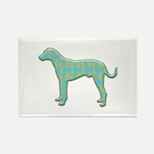 Paisley Catahoula Rectangle Magnet (100 pack)