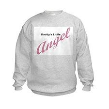 Daddy's Little Angel (pink) Sweatshirt