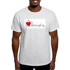 """""""I Love You"""" [Armenian] Ash Grey T-Shirt"""