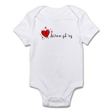 """I Love You"" [Armenian] Infant Bodysuit"