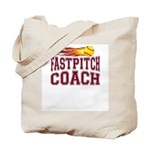 Fastpitch Coach Tote Bag