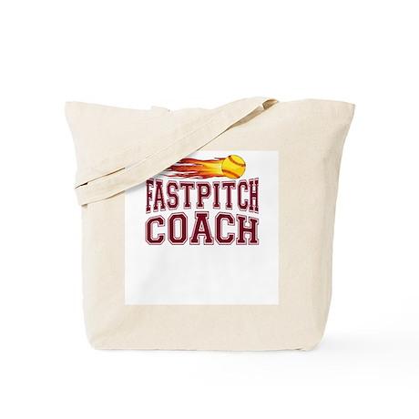 Fastpitch Coach Tote Bag